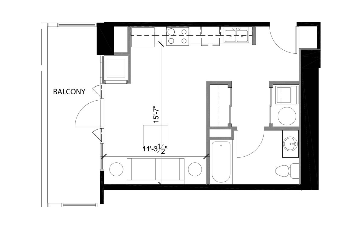 Floor Plans Ariel Luxury Apartment Layouts In Downtown San Diego