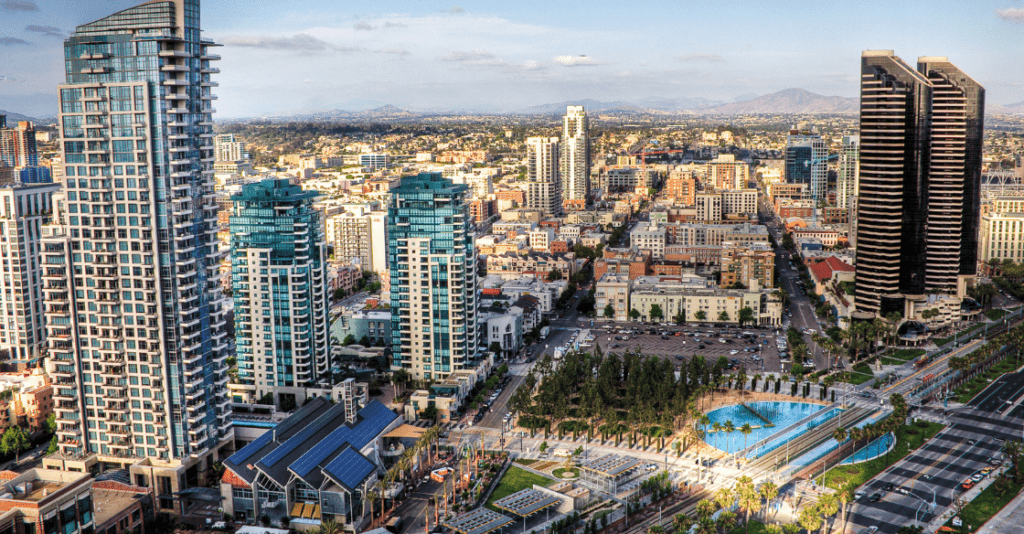 Apartments in downtown San Diego