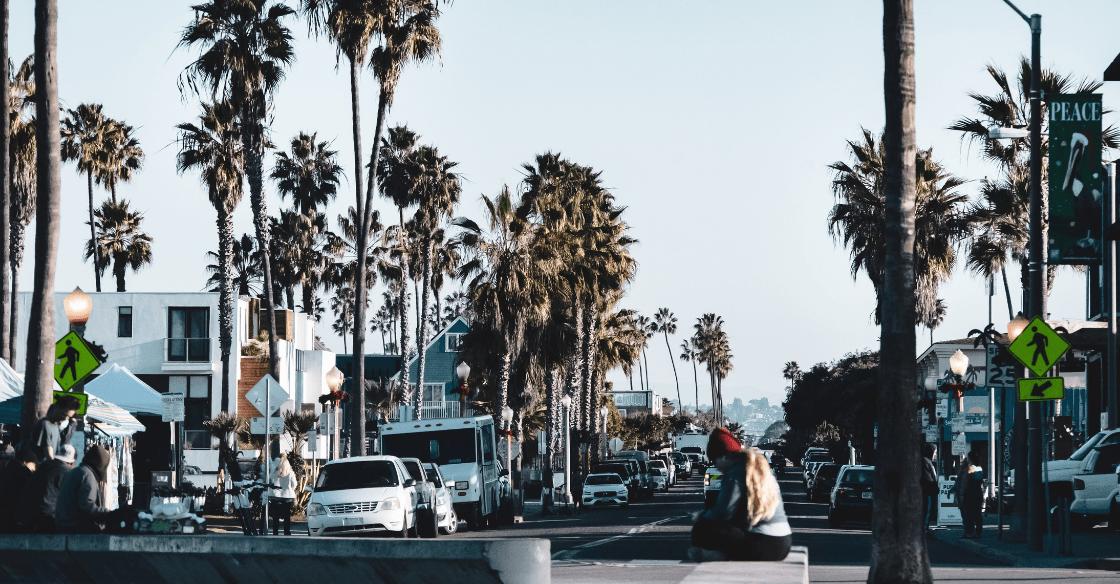 Pacific Beach neighborhood of San Diego